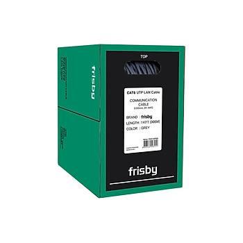 Frisby FNW-CAT622 305 Mt CAT6 UTP 24AWG Gri Network Kablosu