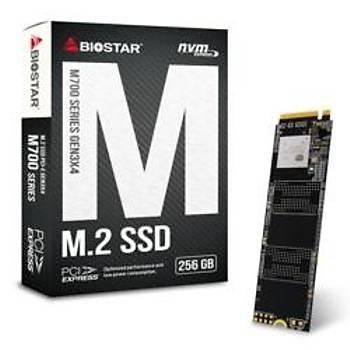 Biostar SS263PME32 M700 256 GB 1850/950MB/s M2 NVMe PCIe Gen 3x4 SSD Harddisk