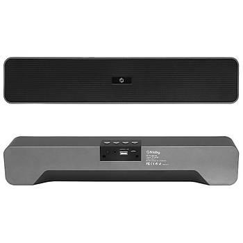 Frisby FS-192BT 16W USB Aux TF Kart Sounbar Siyah Bluetooth Hoparlör