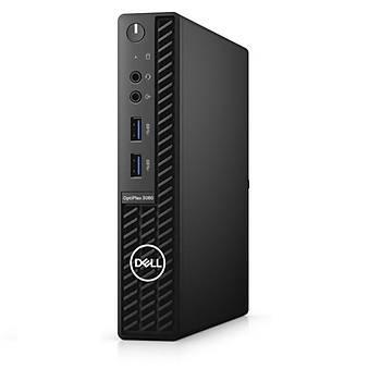 Dell N010O3080MFF OptiPlex 3080 MFF CI3 10100T 3.0Ghz 8GB 128GB SSD Ubuntu Mini Bilgisayar