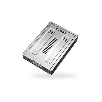 Icy Dock MB982IP-1S-1 Ez Convert 2.5 inch x 1 Yuva 3.5 inch Çevirici Disk Kýzaðý