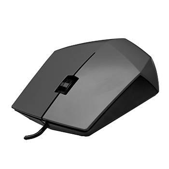 Everest SM-201 USB 1200Dpi 3 Tuþlu Kablolu Optik Gri Mouse
