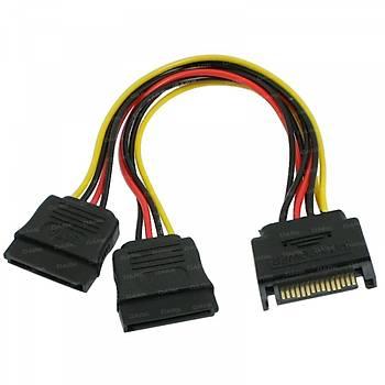 Dark DK-CB-P202 P202 16 Pin Sata - 2 x 15 Pin Sata Dönüþtürücü Kablo
