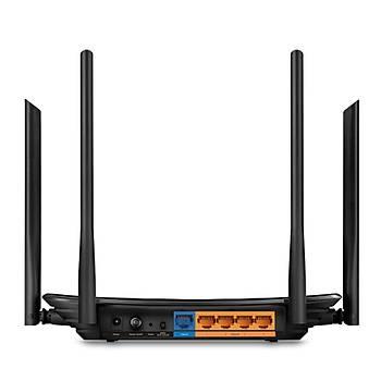 Tp-Link ARCHER C6 AC1200 2.4/5Ghz 4 Port Mu-Mimo Gigabit 4 Antenli Router Access Point