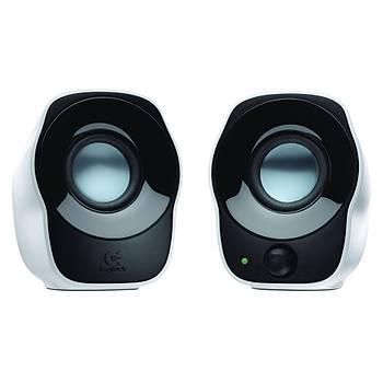 Logitech 980-000513 Z120 1+1 1.2W Rms Usb Siyah/Beyaz Hoparl鰎
