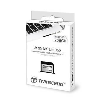 Transcend TS256GJDL360 256 GB Jetdrýve Lýte 360 95/55Mb/s Geniþleme Kartý