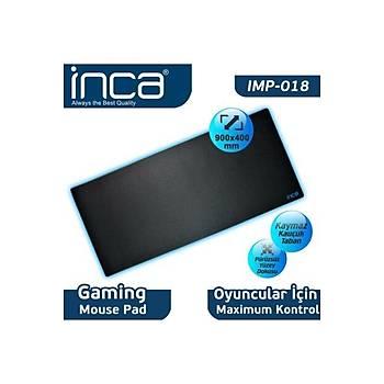 Inca IMP-018M 900x400mm XXL Siyah Oyuncu Mouse Pad