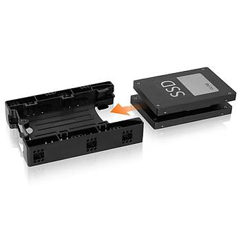Icy Dock MB290SP-B Ez-Fýt 2.5 inch x 2 Yuva 3.5 inch Çevirici Disk Kýzaðý