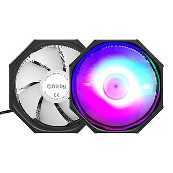 Frisby FCL-F1305B 10 cm RGB Fanlý 3 Pin AMD/INTEL Ýþlemci Soðutucusu