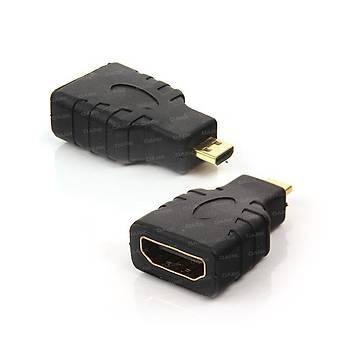 Dark DK-HD-AHDMIXMICRO micro HDMI to HDMI Erkek-Diþi Telefon Tablet Kamera Ýçin Dönütürücü Adaptör