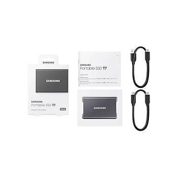 Samsung MU-PC500T/WW 500 GB T7 mini USB 3.2 Gümüþ Taþýnabilir SSD Harddisk