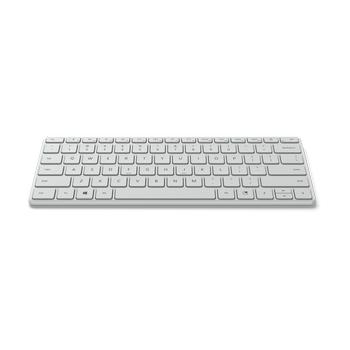 Microsoft 21Y-00042 Q TR Designer Sompact Slim Bluetooth Beyaz Klavye