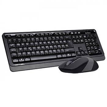 A4 Tech FG1010 F TR Multimedia 1600Dpi 4 Tuþlu Kablosuz Klavye Mouse Set