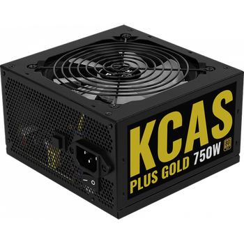 Aerocool AE-KCASP750RGB KCAS 750W Plus ARGB 12cm Fanlý 80+ Gold Power Supply