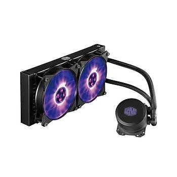 Cooler Master MLW-D24M-A20PC-R1 Masterlýguýd ML240L Intel/Amd Sývý Soðutmalý Fan