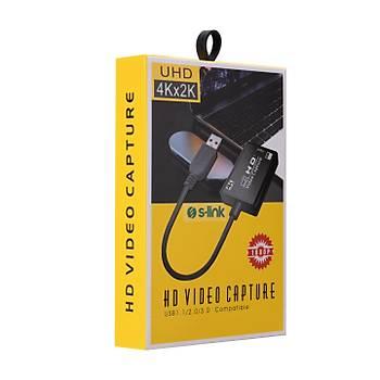 S-Link SL-UH700 HDMI to USB Video Yakalayýcý Capture Card