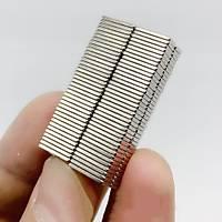 10x5x1,5mm Dikdörtgen Neodyum Mýknatýs Boy 10mm En 5mm Kalýnlýk 1,5mm