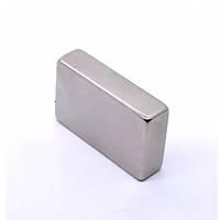 40x25x10 mm Dikdörtgen Neodyum Mýknatýs Boy 40mm En 25mm Kalýnlýk 10mm