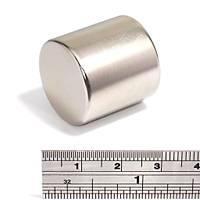 25x25 mm Yuvarlak Güçlü Neodyum Mýknatýs (Çap 25 mm Kalýnlýk 25 mm)