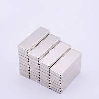 30x10x3 mm Dikdörtgen Neodyum Mýknatýs Boy 30mm En 10mm Kalýnlýk 3mm
