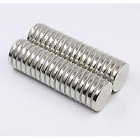 30x5 mm Yuvarlak Güçlü Neodyum Mýknatýs (Çap 30mm Kalýnlýk 5mm)