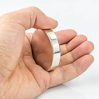 50x10 mm Yuvarlak Güçlü Neodyum Mýknatýs (Çap 50mm Kalýnlýk 10mm)