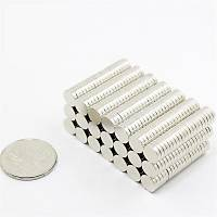 8x2mm Yuvarlak Güçlü Neodyum Mýknatýs (Çap 8 mm Kalýnlýk 2 mm)