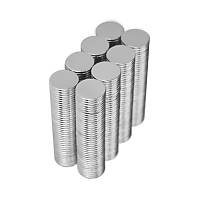 10x1 mm Yuvarlak Güçlü Neodyum Mýknatýs (Çap 10 mm Kalýnlýk 1 mm)