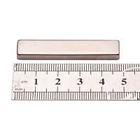 50x10x5 mm Dikdörtgen Neodyum Mýknatýs Boy 50mm En 10mm Kalýnlýk 5mm
