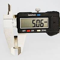 50x20x5 mm Dikdörtgen Neodyum Mýknatýs Boy 50mm En 20mm Kalýnlýk 5mm