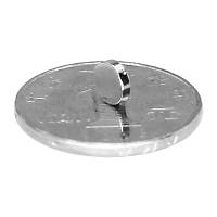 6x1,5 mm Yuvarlak Güçlü Neodyum Mýknatýs (Çap 6mm Kalýnlýk 1,5mm)