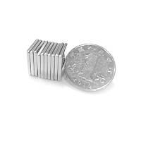 15x15x2 mm Dikdörtgen Neodyum Mýknatýs Boy 15mm En 15mm Kalýnlýk 2mm