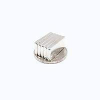 20x8x2 mm Dikdörtgen Neodyum Mýknatýs Boy 20mm En 8mm Kalýnlýk 2mm