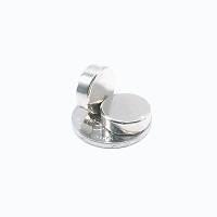 15x5 mm Yuvarlak Güçlü Neodyum Mýknatýs (Çap 15 mm Kalýnlýk 5 mm) deney mýknatýsý