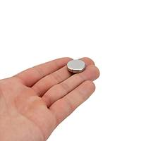 18x4 mm Yuvarlak Güçlü Neodyum Mýknatýs (Çap 18 mm Kalýnlýk 4 mm)
