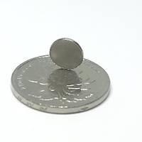 9x1,5 mm Yuvarlak Güçlü Neodyum Mýknatýs (Çap 9mm Kalýnlýk 1,5mm)