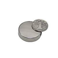 36x10 mm Yuvarlak Güçlü Neodyum Mýknatýs (Çap 36mm Kalýnlýk 10mm)