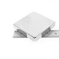50x50x10 mm Dikdörtgen Neodyum Mýknatýs Boy 50mm En 50mm Kalýnlýk 10mm