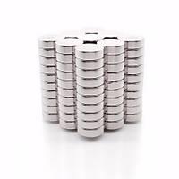 12x5 mm Yuvarlak Güçlü Neodyum Mýknatýs (Çap 12 mm Kalýnlýk 5 mm)