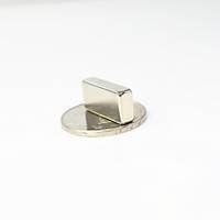 20x10x5 mm Dikdörtgen Neodyum Mýknatýs Boy 20mm En 10mm Kalýnlýk 5mm