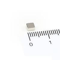 3,5x3,5x2,5 mm Dikdörtgen Neodyum Mýknatýs Boy 3,5mm En 3,5mm Kalýnlýk 2,5mm