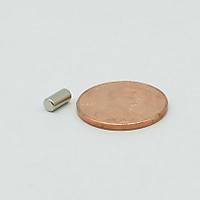 3x6 mm Yuvarlak Güçlü Neodyum Mýknatýs (Çap 3 mm Kalýnlýk 6 mm)