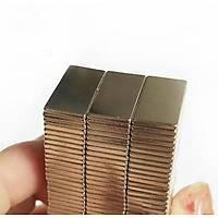 20x10x1,5 mm Dikdörtgen Neodyum Mýknatýs Boy 20mm En 10mm Kalýnlýk 1,5mm