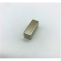 40x15x15 mm Dikdörtgen Neodyum Mýknatýs Boy 40mm En 15mm Kalýnlýk 15mm