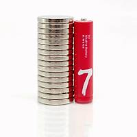 20x3 mm Yuvarlak Güçlü Neodyum Mýknatýs (Çap 20 mm Kalýnlýk 3 mm)