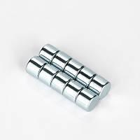 5x4 mm Yuvarlak Güçlü Neodyum Mýknatýs (Çap 5mm Kalýnlýk 4mm)
