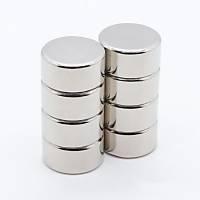 20x10 mm Yuvarlak Güçlü Neodyum Mýknatýs (Çap 20mm Kalýnlýk 10mm)