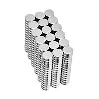 6x2 mm Yuvarlak Güçlü Neodyum Mýknatýs (Çap 6 mm Kalýnlýk 2 mm)