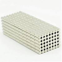 3x8 mm Yuvarlak Güçlü Neodyum Mýknatýs (Çap 3 mm Kalýnlýk 8 mm)