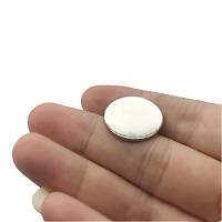 20x1,5 mm Yuvarlak Güçlü Neodyum Mýknatýs (Çap 20 mm Kalýnlýk 1,5 mm)